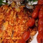 Iraqi grilled fish