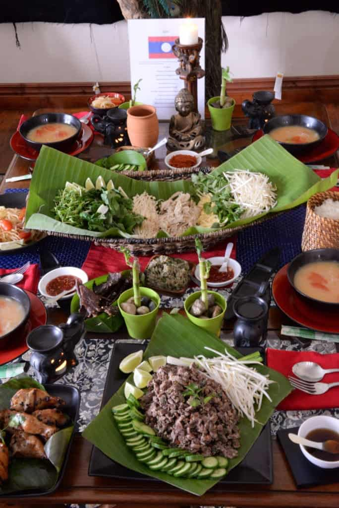Laos Table