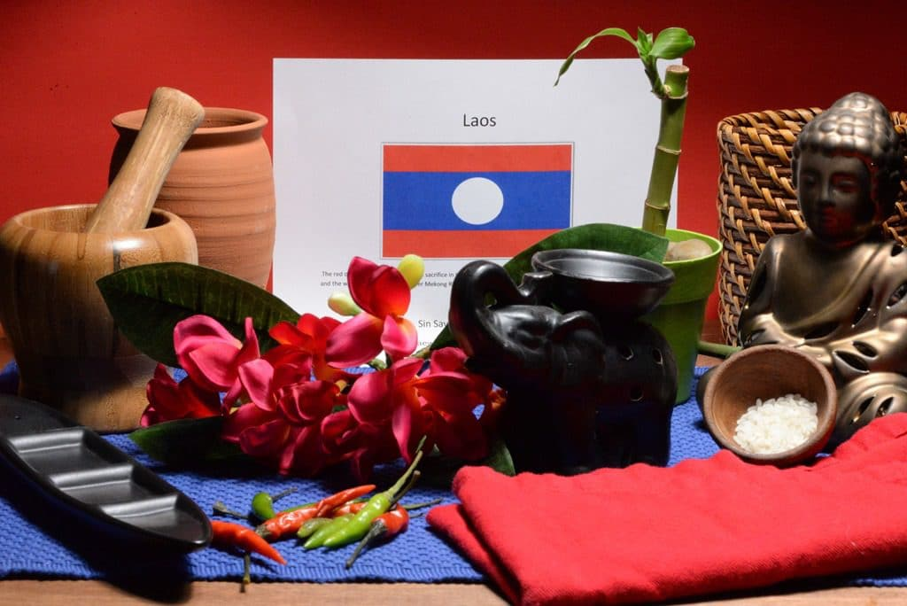 About food and culture of Laos