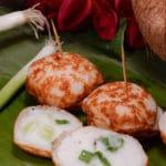 Laotian coconut cakes