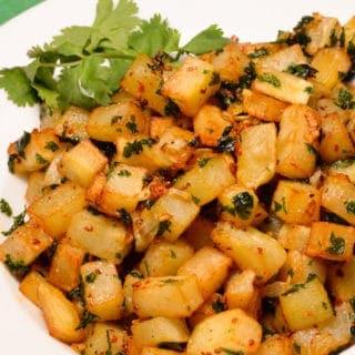 Lebanese potatoes