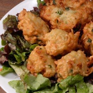 Luxembourg potato fritters