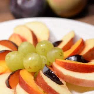 Macedonian fruit plate