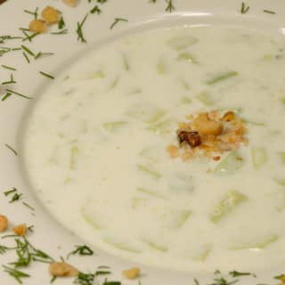Macedonian cucumber soup