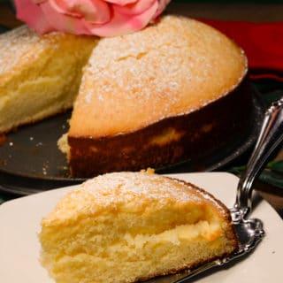 Maldivian sweetened condensed milk cake