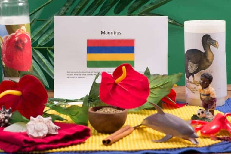 about food and culture of Mauritius