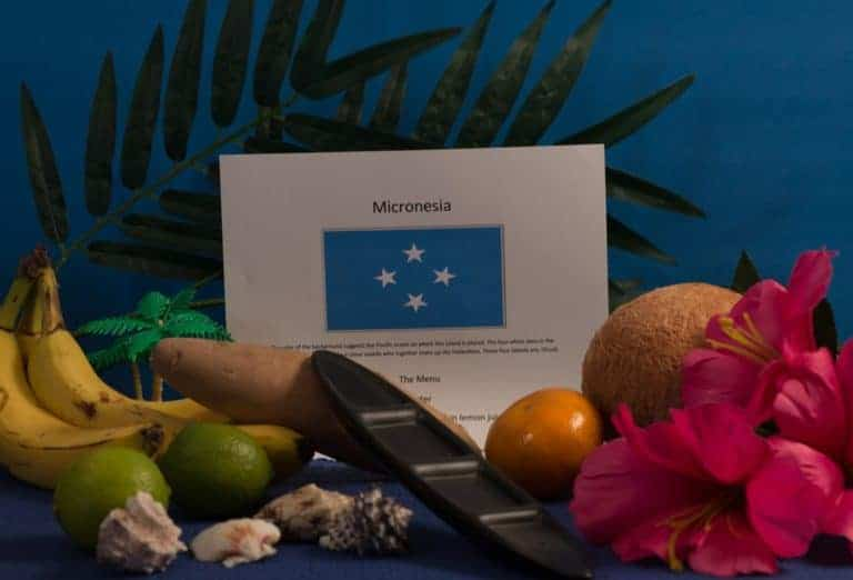 About food and culture of Micronesia
