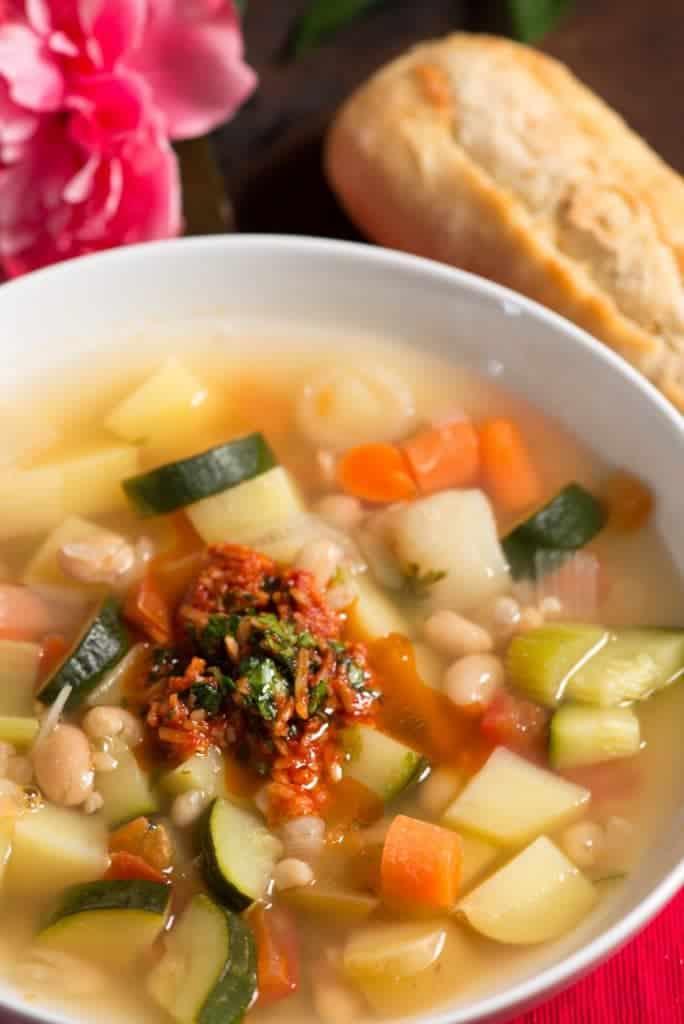 Monaco Vegetable soup