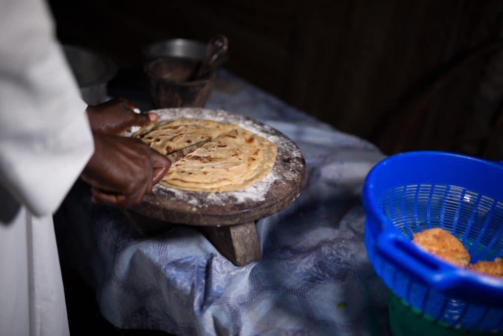 chapati cut
