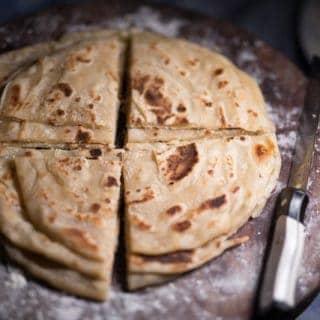 Sliced Chapati
