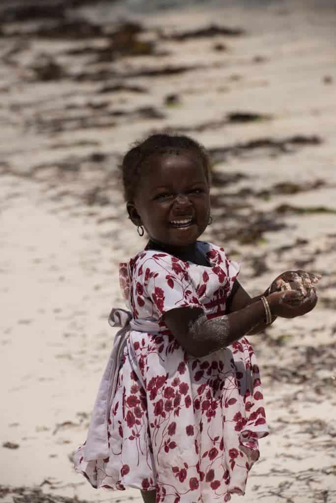 Beautiful girl with sandball