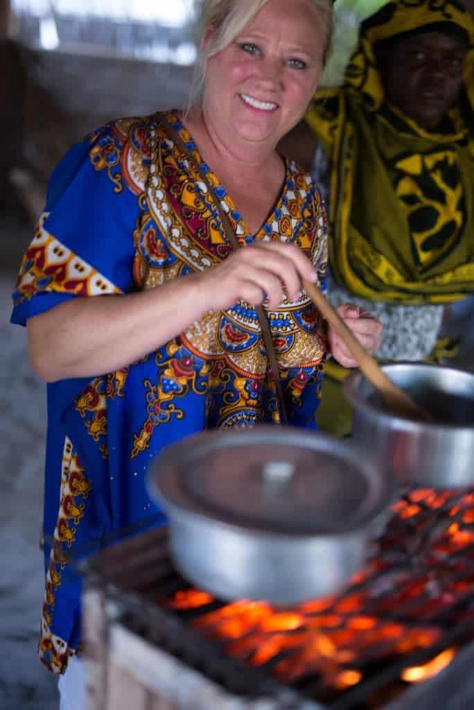 stirring curry