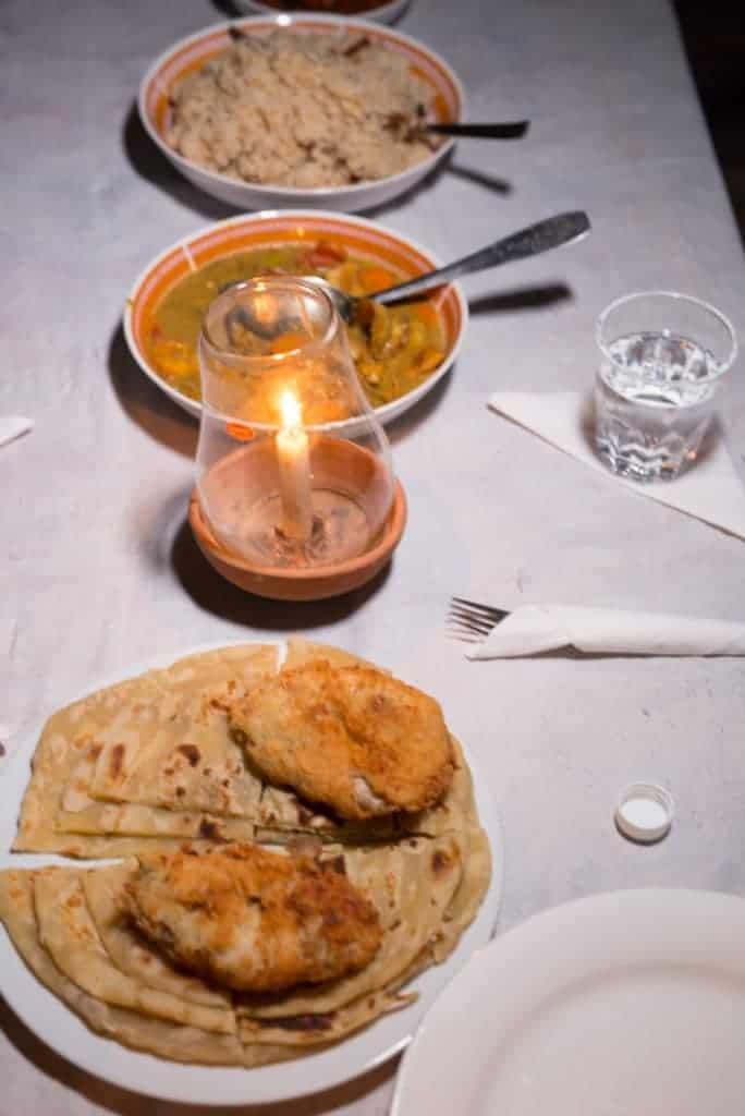 Zanzibar meal