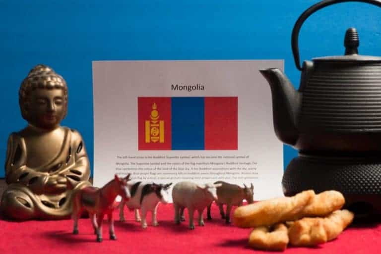 About food and culture of Mongolia