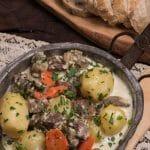 Montenegrin Lamb in Milk