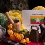About food and culture of Myanmar