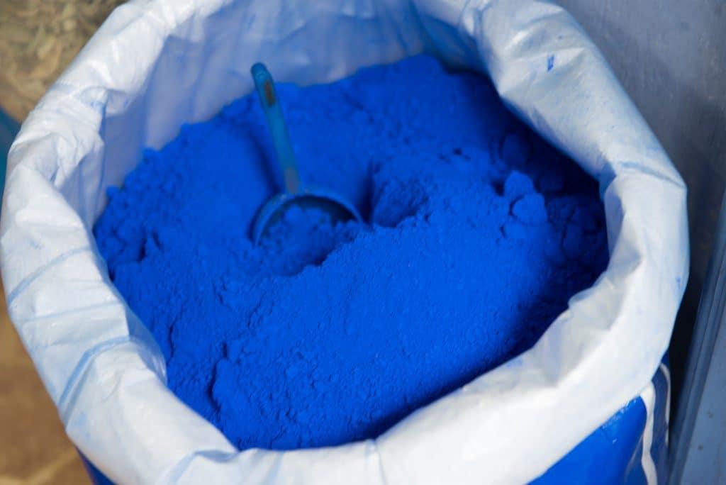 Chefchaouen blue talc