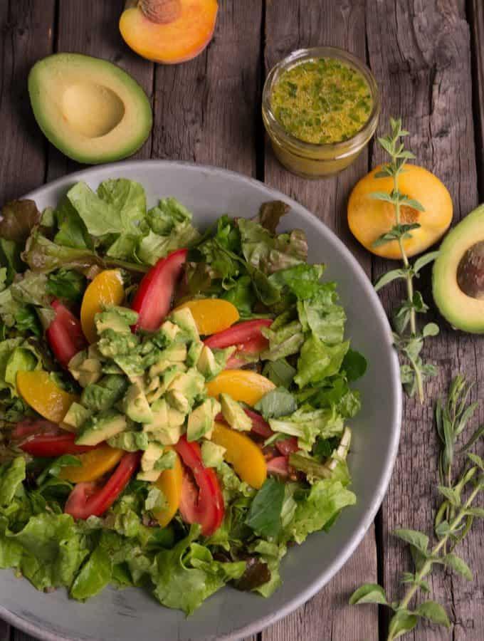Mozambican Avocado Salad