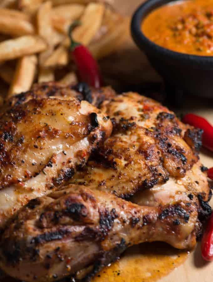 Mozambican peri peri chicken