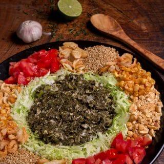 fermented green tea salad recipe