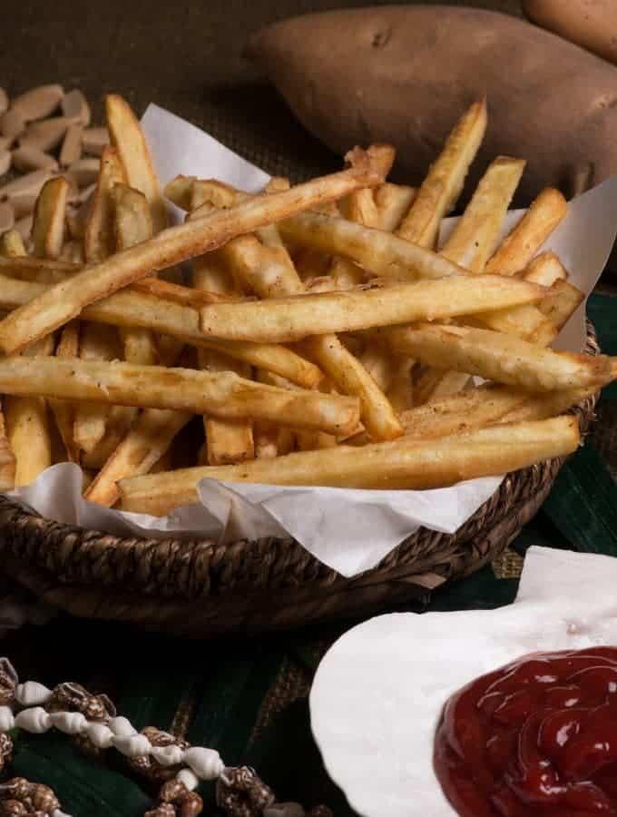 Nauru sweet potato fries