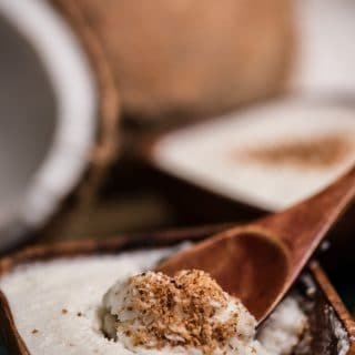 Nauru coconut mousse
