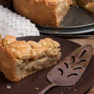 Appeltaart/ Dutch Apple Pie Recipe