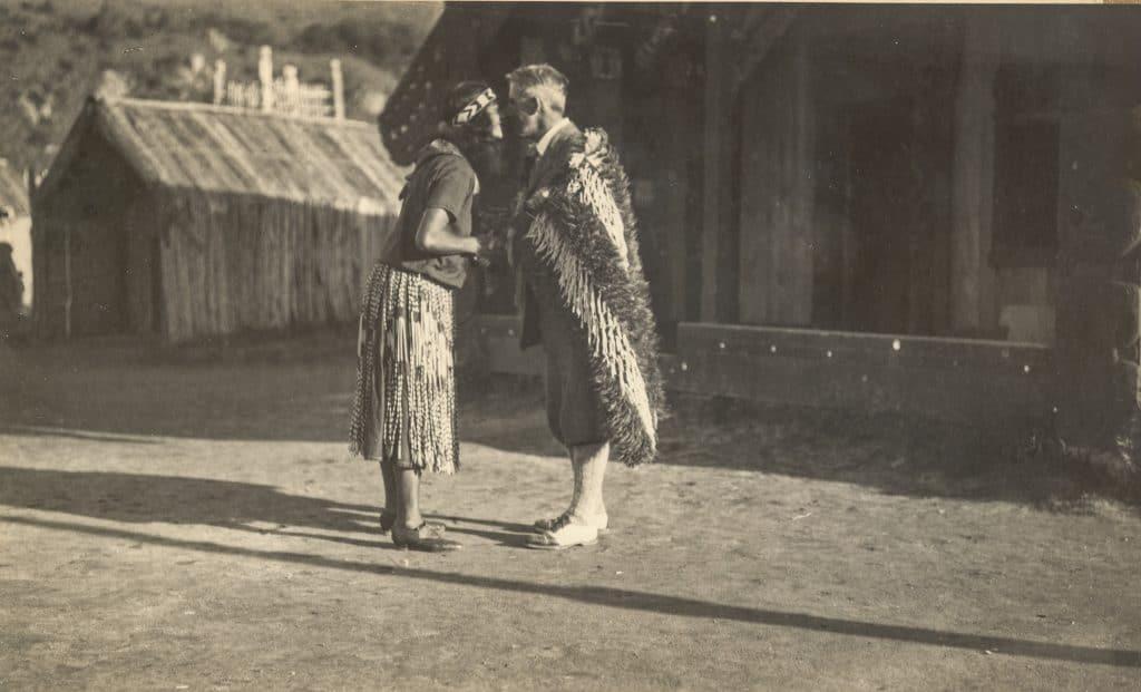 Zane Grey with Maori in New Zealand