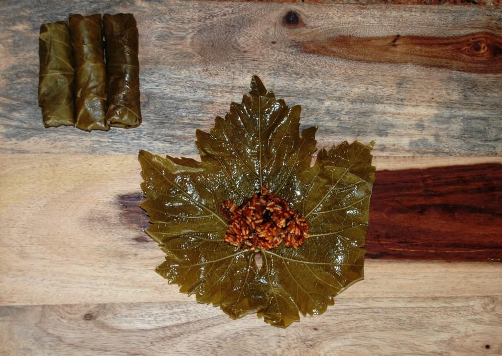 Armenian Stuffed Grape Leaves (Yalanchi Sarma) Recipe — Dishmaps