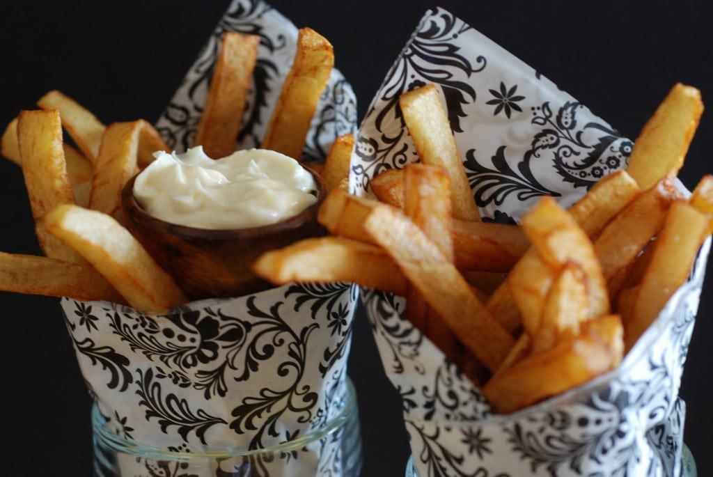 Pommes Frites - Traditional Belgian Fries - International Cuisine