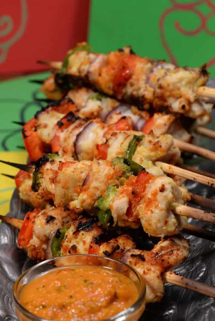 Ghana chichinga suya chicken kabob international cuisine for Authentic african cuisine from ghana