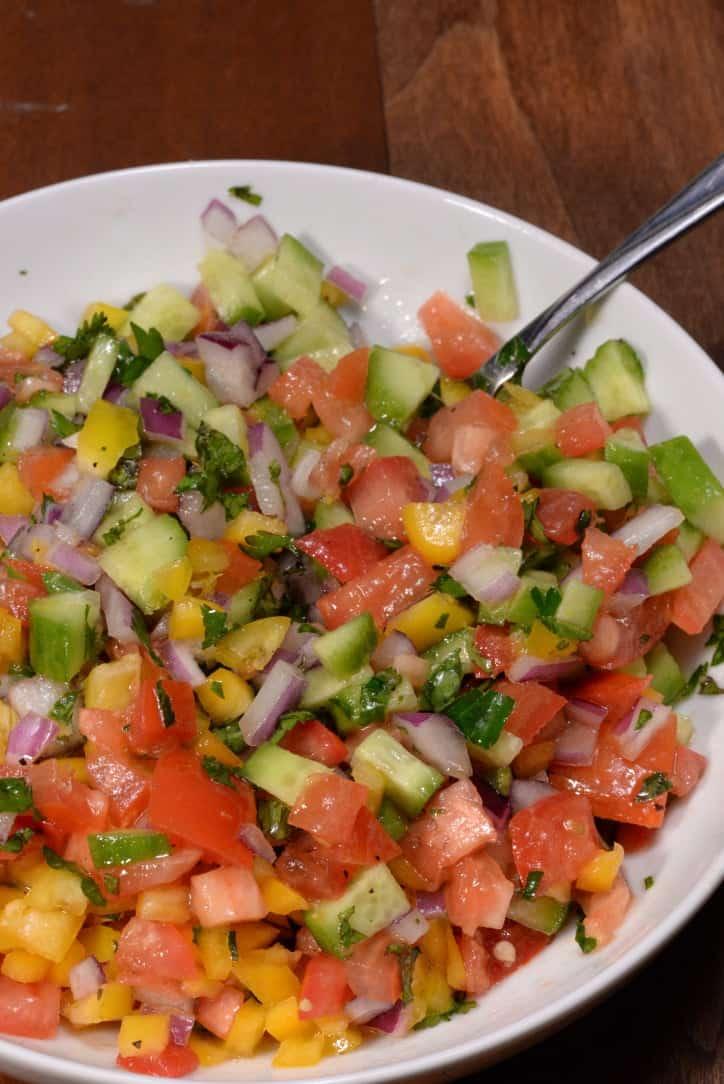 Israeli Salad - International Cuisine