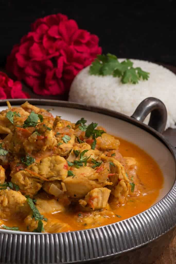 Nepali Chicken Tarkari (Chicken Curry) - International Cuisine