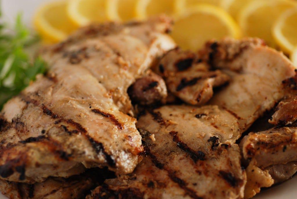 Afghanistan Chicken Kebab