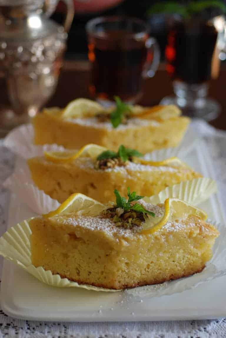 How To Make Revani Cake