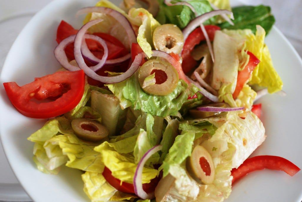 Albania side salad