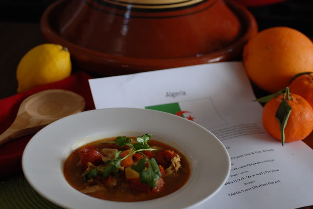 About food and culture of Algeria