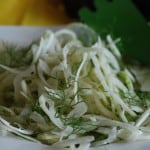 Angola Lemon Fennel Salad