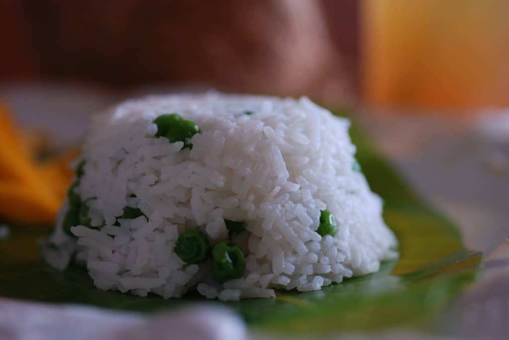 Antigua coconut rice