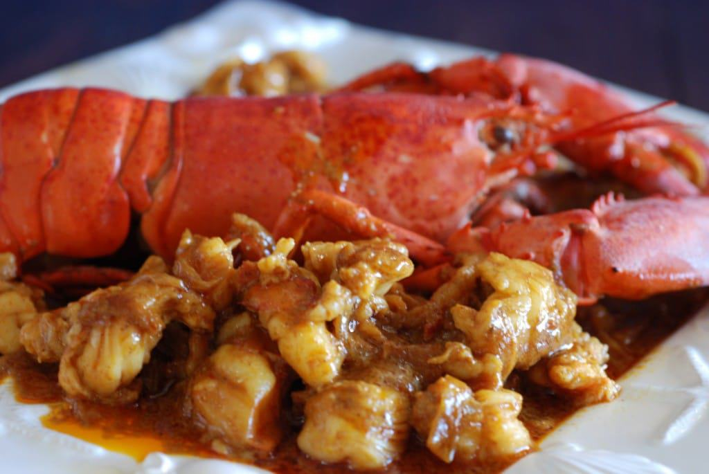 Bahamian Lobster Curry