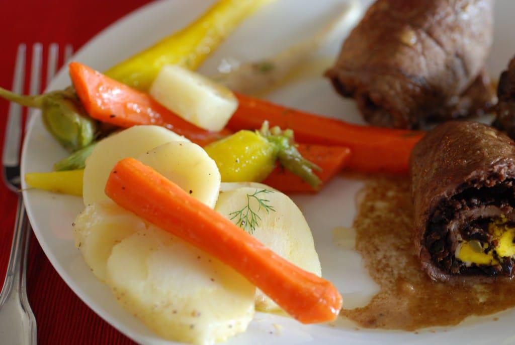 Belarus stewed vegetables