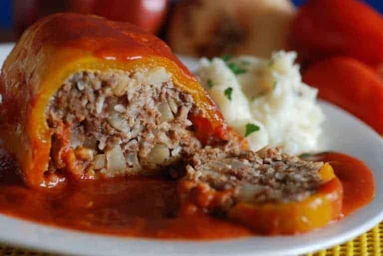 Punjena Paprika Stuffed Peppers International Cuisine