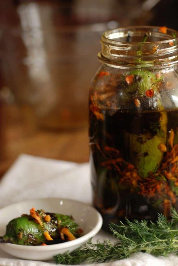 Bulgaria Marinated Peppers