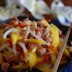Cambodia Squid and mango salad