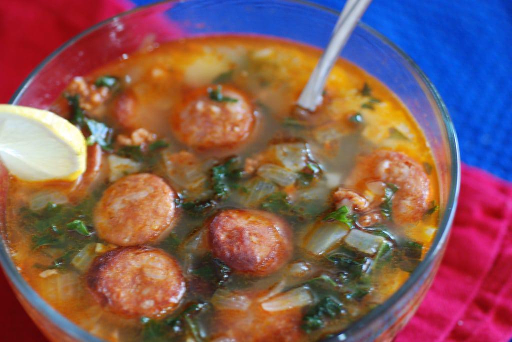 Cape Verde Portuguese Kale soup