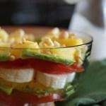Cameroon Banana and Pineapple Layers