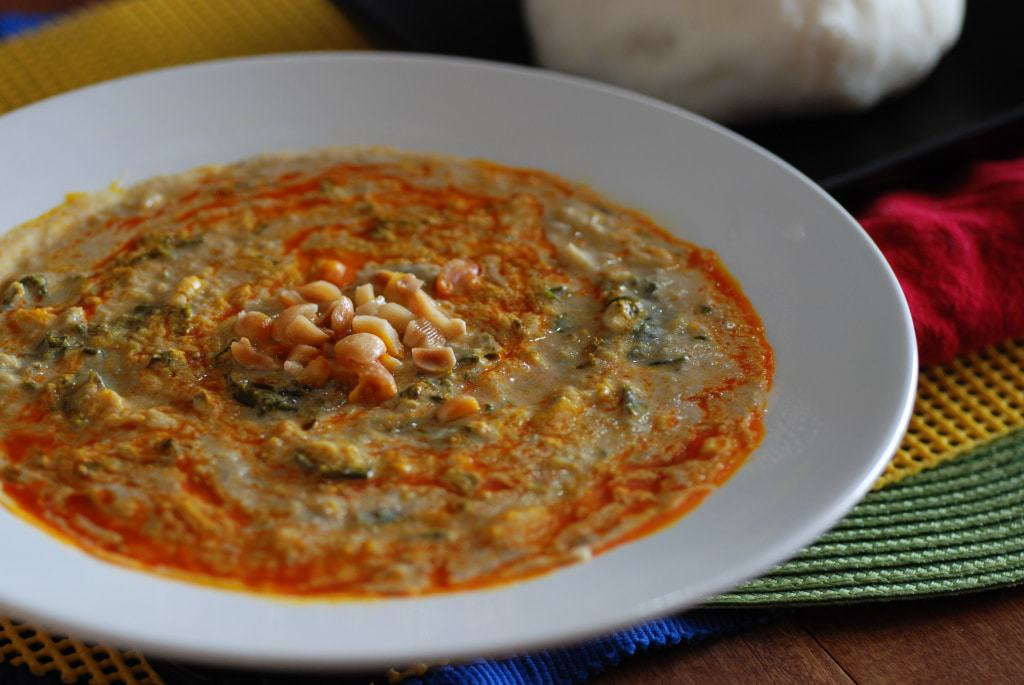 Central African Republic Plantain Soup