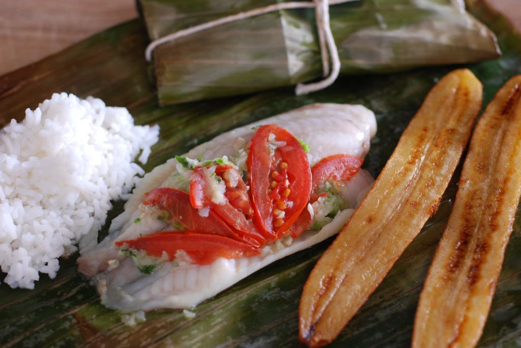Central African Republic Steamed Fish