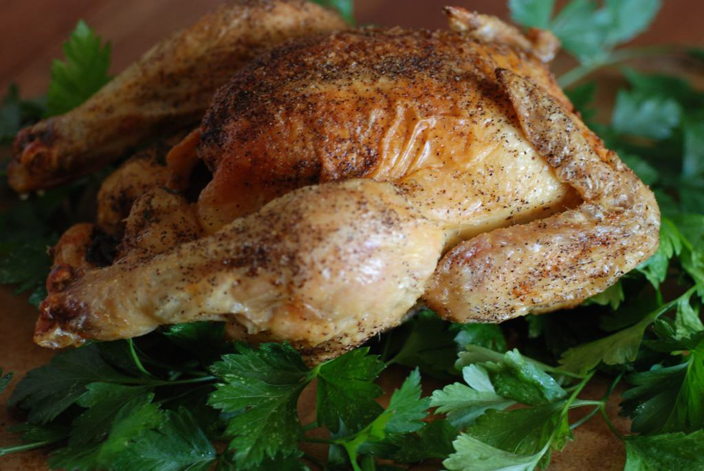Chad style roast chicken