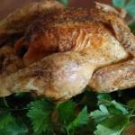 Chad style roast chicken